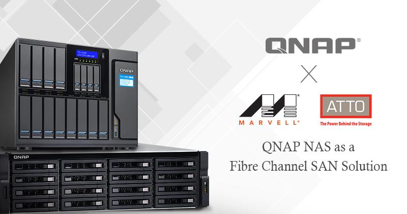 QNAP Giới Thiệu Giải Pháp Kết nối Fibre Channel Cho QNAP NAS