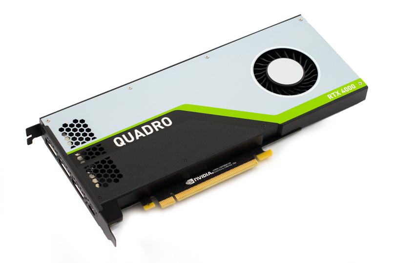 Đánh giá Card đồ họa chuyên nghiệp NVIDIA Quadro RTX 4000