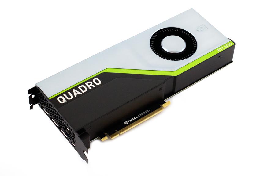 Đánh giá Card đồ họa chuyên nghiệp NVIDIA Quadro RTX 5000