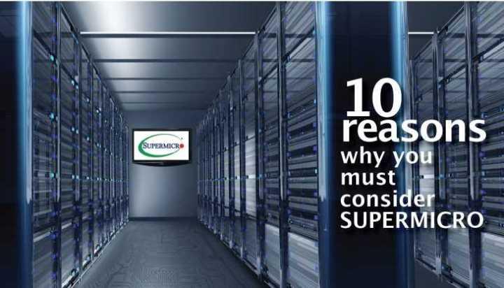 10 lý do bạn nên xem xét Supermicro trước khi chọn máy chủ cho dự án