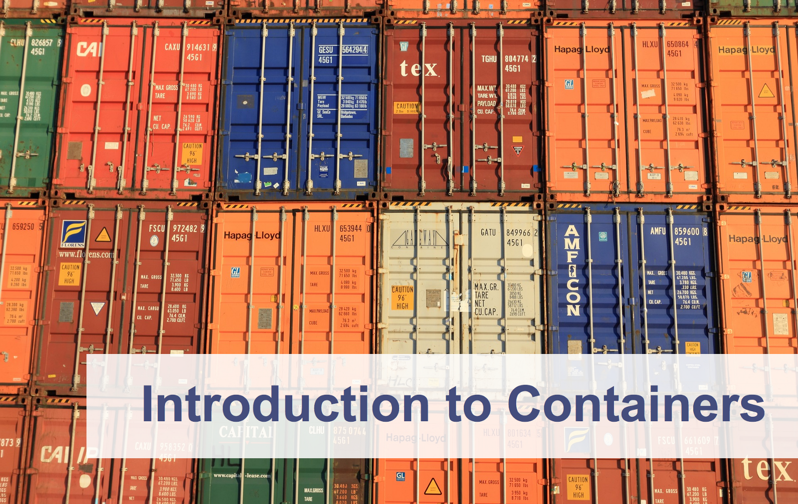 Application Container là gì?