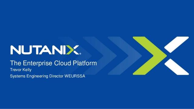 Nutanix dẫn đầu thị trường phần mềm cho HCI