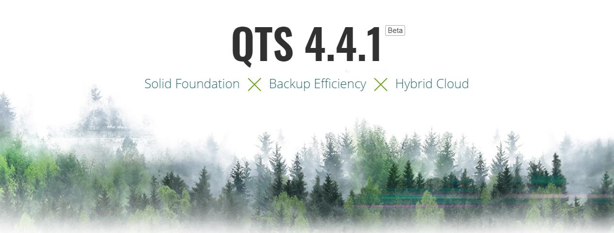 QNAP đã bắt đầu phát hành bản thử nghiệm QTS 4.4.1