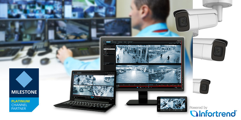 Giải pháp Milestone Video Surveillance