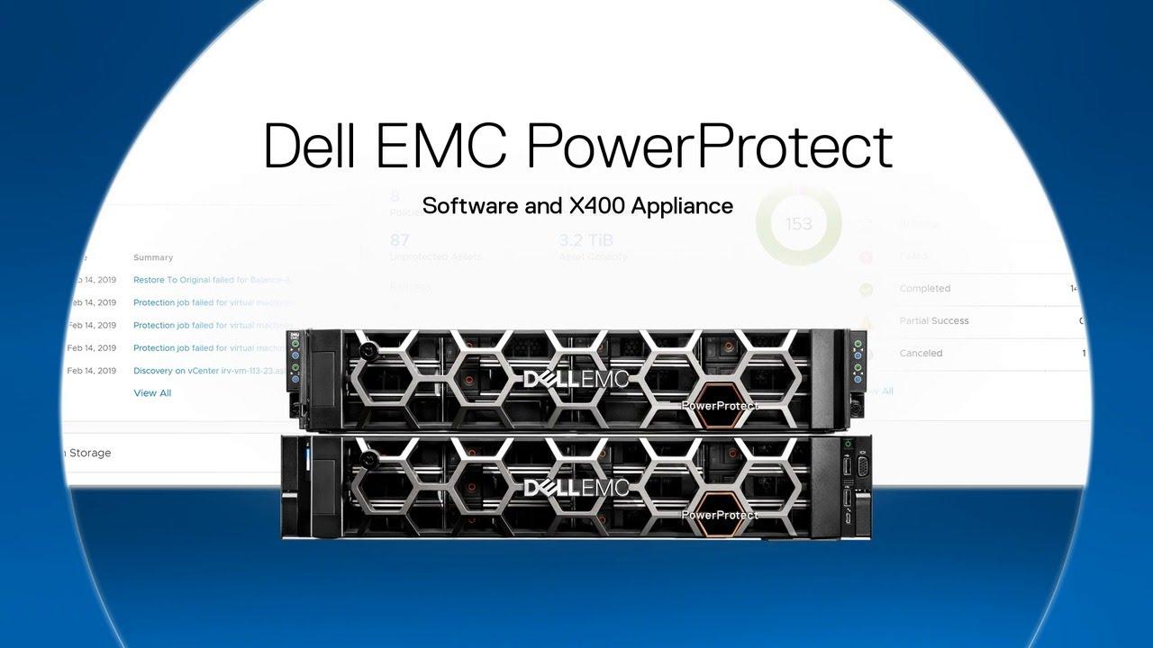 Giới thiệu giải pháp phần mềm Dell EMC PowerProtect