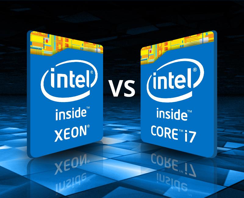 Sự cải tiến Chip Intel Xeon và so sánh với CPU Core I7 trên thị trường