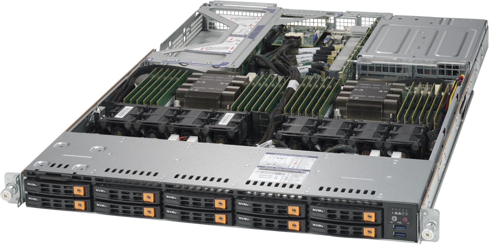 Review: Máy chủ Supermicro SuperServer với bộ nhớ dài hạn Intel Optane DC đầu tiên