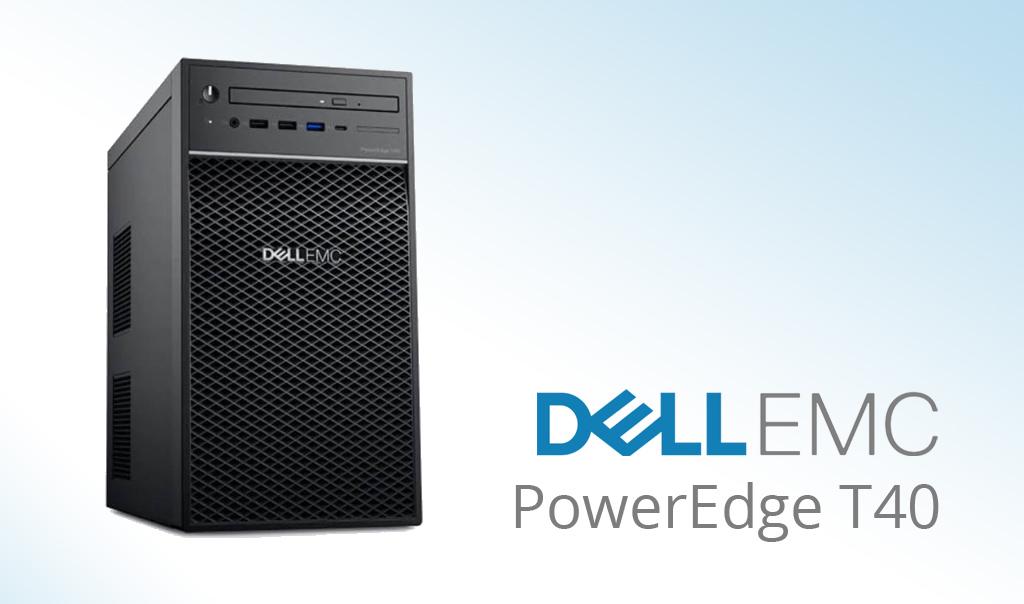 Dell EMC ra mắt máy chủ PowerEdge T40 với Intel Xeon E-2200