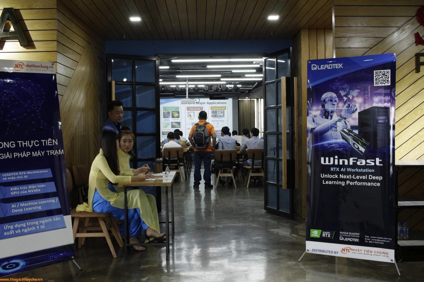 """Hội thảo """"AI trong thực tiễn và các giải pháp máy trạm"""""""
