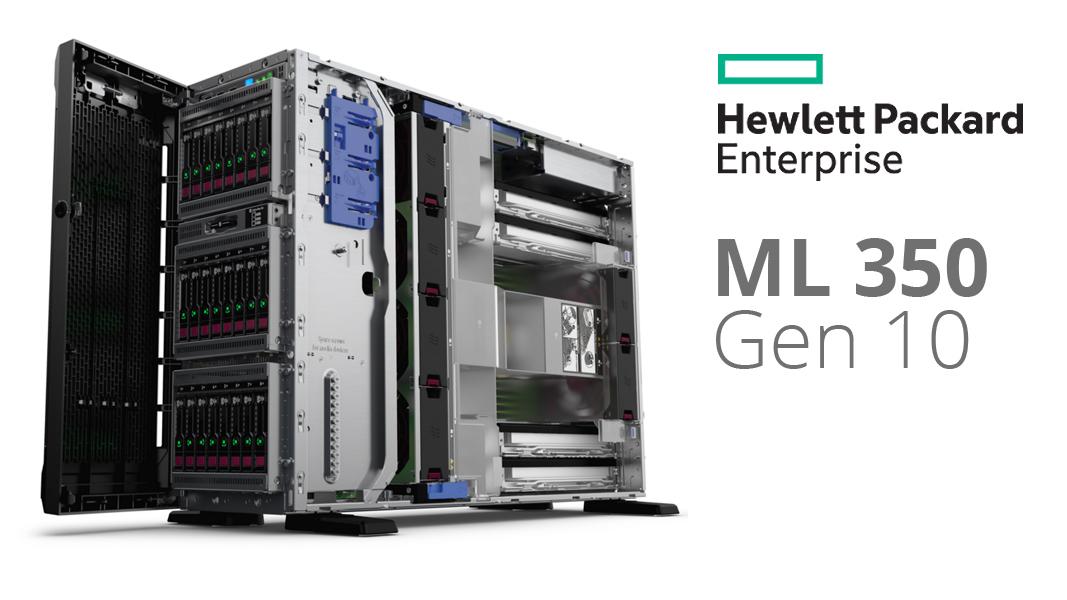Đánh giá dòng máy chủ HPE Proliant ML350 Gen 10