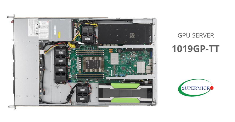 Đánh giá máy chủ Supermicro GPU Server 1019GP-TT