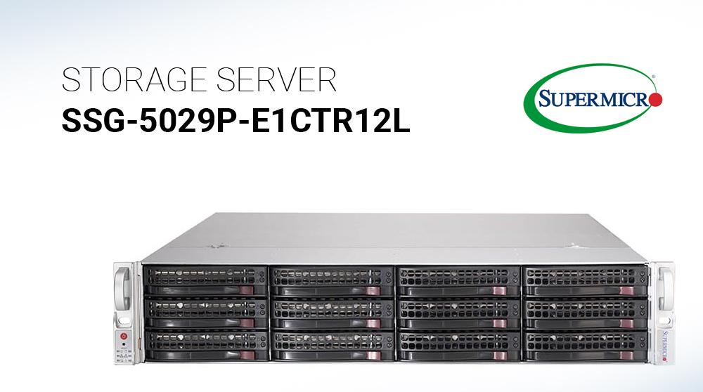 Đánh giá máy chủ lưu trữ Supermicro SuperStorage SSG-5029P-E1CTR12L