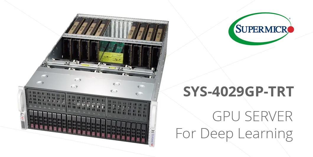 Đánh giá máy chủ GPU Supermicro SYS-4029GP-TRT