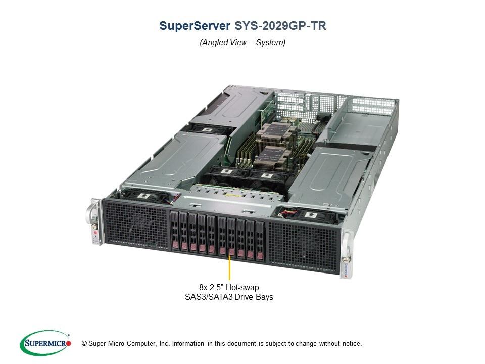 Đánh giá máy chủ Supermicro GPU Server 2029GP-TR
