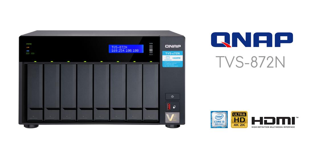 Đánh giá thiết bị lưu trữ QNAP TVS-872N