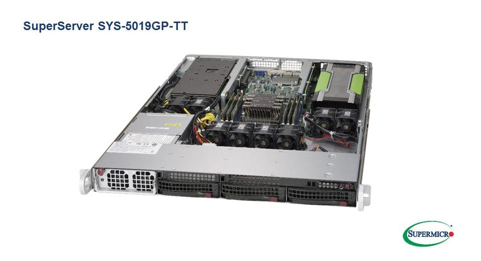 Đánh giá máy chủ Supermicro GPU Server 5019GP-TT