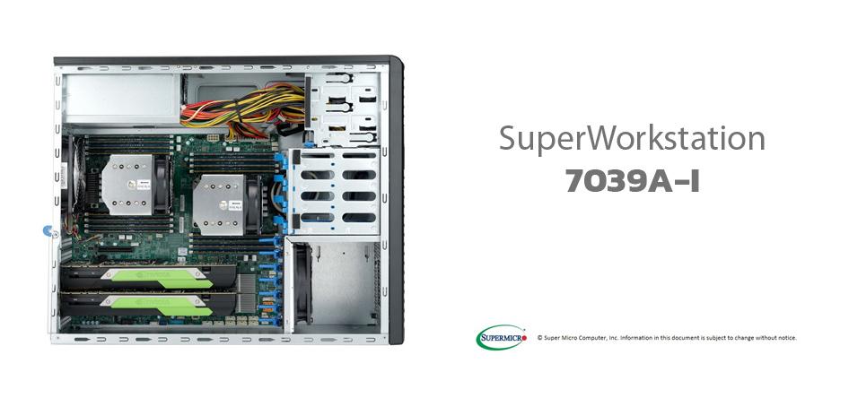 Đánh giá máy trạm Supermicro SuperWorkstation 7039A-i