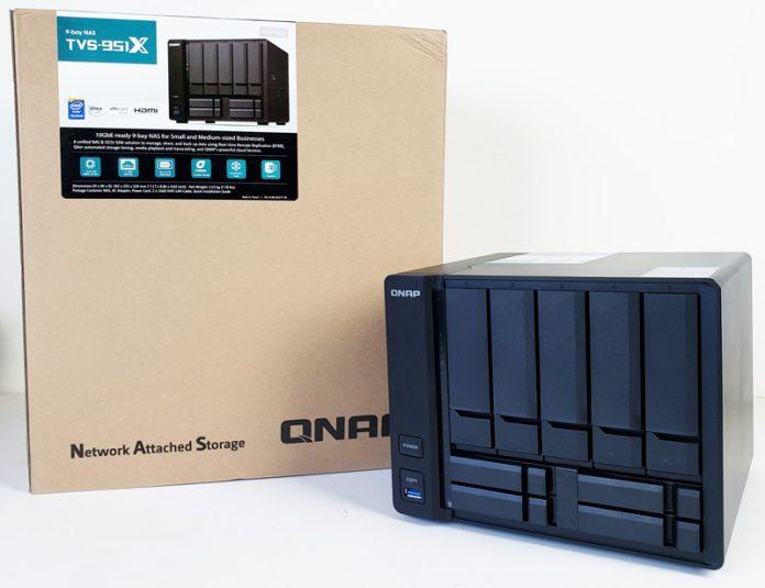 Đánh giá chi tiết QNAP TVS-951X – NAS 9-bay cho doanh nghiệp nhỏ và những người tạo nội dung