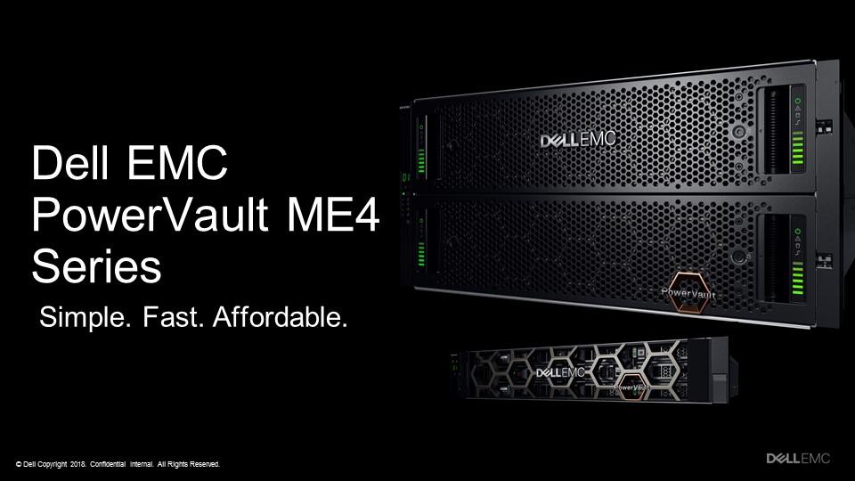Giới thiệu Dell PowerVault Storage ME4 Series: Tối ưu hóa dành cho hệ thống lưu trữ SAN và DAS