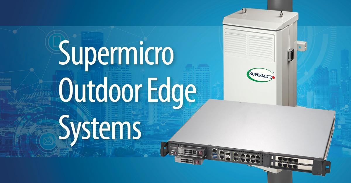 Supermicro ra mắt máy chủ compact 2U mới chuyên cho ứng dụng 5G, Edge và các Telco