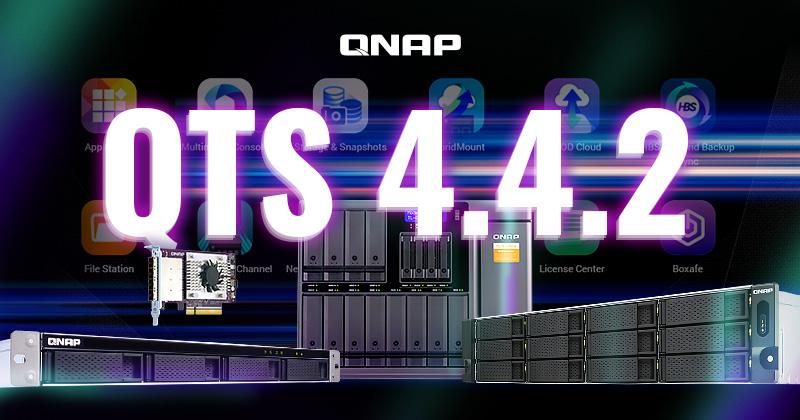 QNAP phát hành QTS 4.4.2: tăng cường bảo mật hệ thống và hỗ trợ một loạt các giải pháp mở rộng USB/SATA