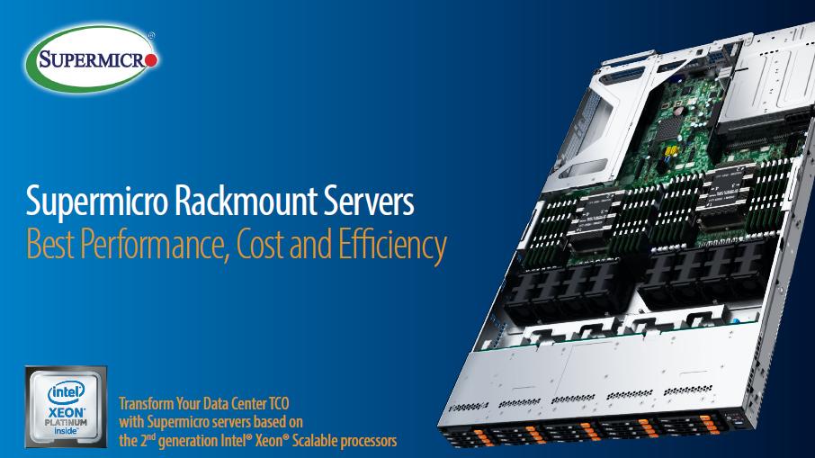 Điểm mặt các máy chủ dòng UltraServer 2U hiệu suất cao của Supermicro