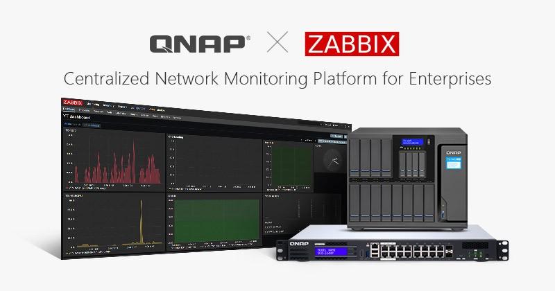 QNAP hỗ trợ Zabbix: Biến NAS thành nền tảng quản lý mạng tập trung cho nhiều thiết bị