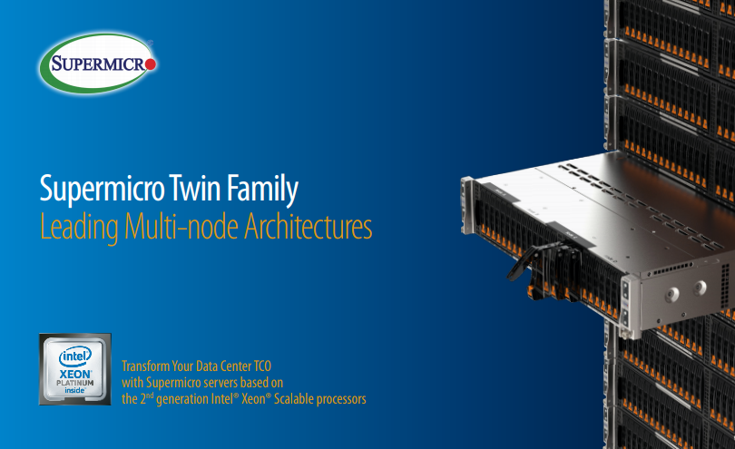 Giới thiệu và đánh giá Supermicro Twin-Pro Server 2029TP-HTR