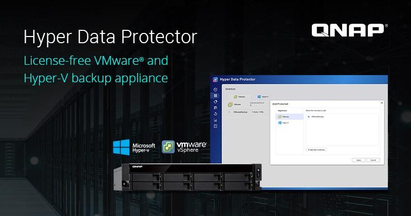 QNAP ra mắt Hyper Data Protector: Giải pháp sao lưu VMware và Hyper-V miễn phí