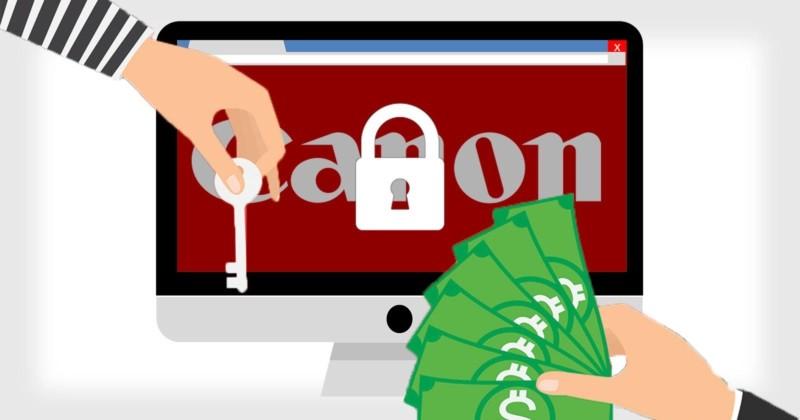 Canon bị tấn công bằng ransomware:10TB dữ liệu đã bị mất?