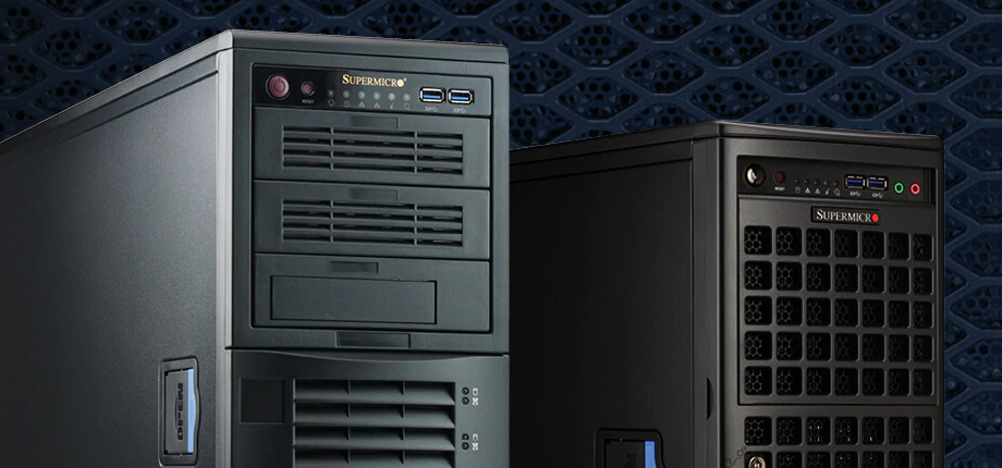 Điểm mặt các máy trạm đồ họa Workstations Professional của Supermicro