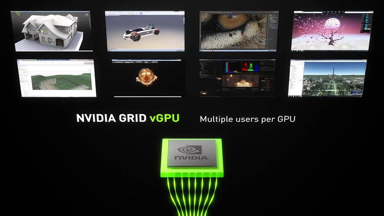 Các dòng máy chủ Supermicro hỗ trợ NVIDIA vGPU
