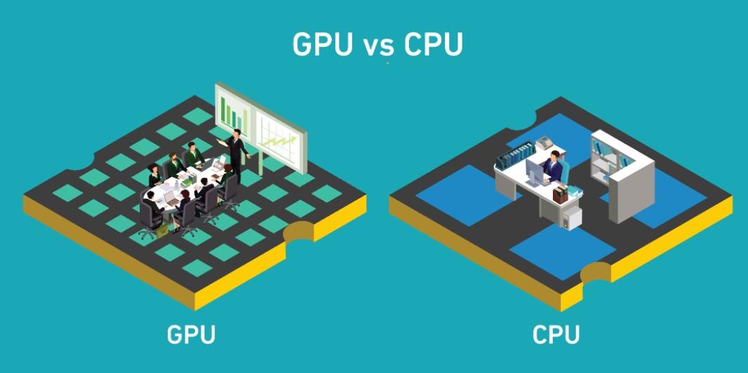So sánh CPU vs GPU cho các hệ thống xử lý AI