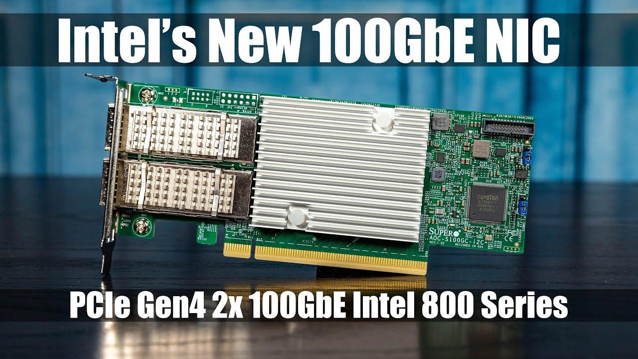 Giới thiệu về mẫu card network tốc độ cao Supermicro AOC-S100GC-i2C Dual 100GbE NIC