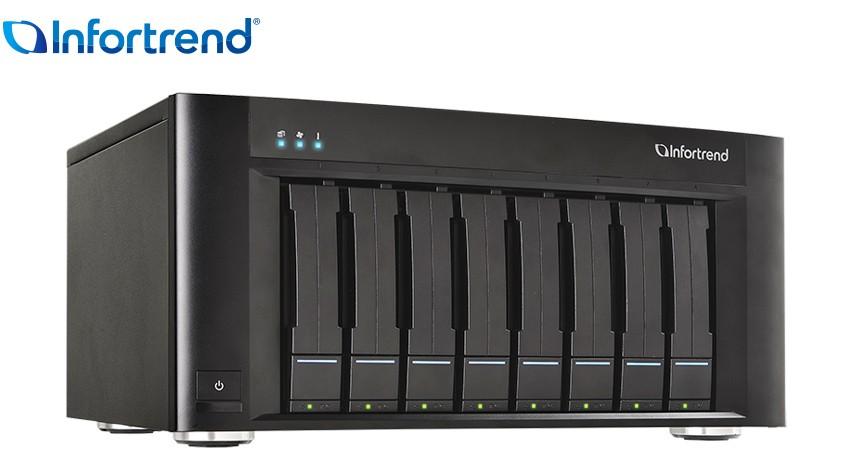 Giới thiệu lưu trữ NAS Infortrend EonStor GSe Pro 108