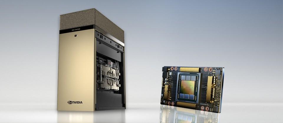 NVIDIA DGX Station A100 – Trung tâm dữ liệu AI trong một chiếc máy trạm
