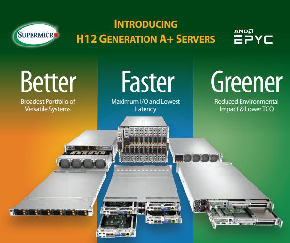 Supermicro giới thiệu máy chủ hỗ trợ CPU AMD EPYC 7003: Cải thiện hiệu suất lên đến 36%