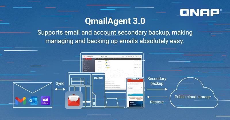QNAP phát hành QmailAgent 3.0 Beta, cung cấp giải pháp quản lý email hoàn chỉnh trên Private Cloud