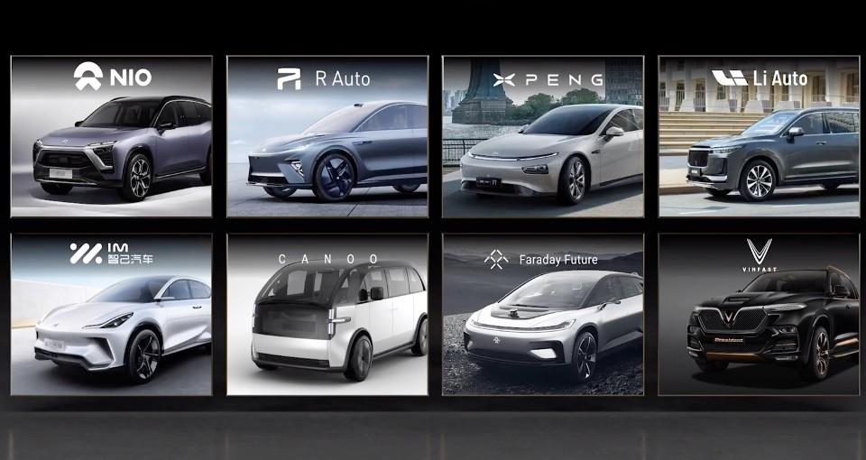 Thế hệ xe điện mới được tăng sức mạnh với NVIDIA DRIVE