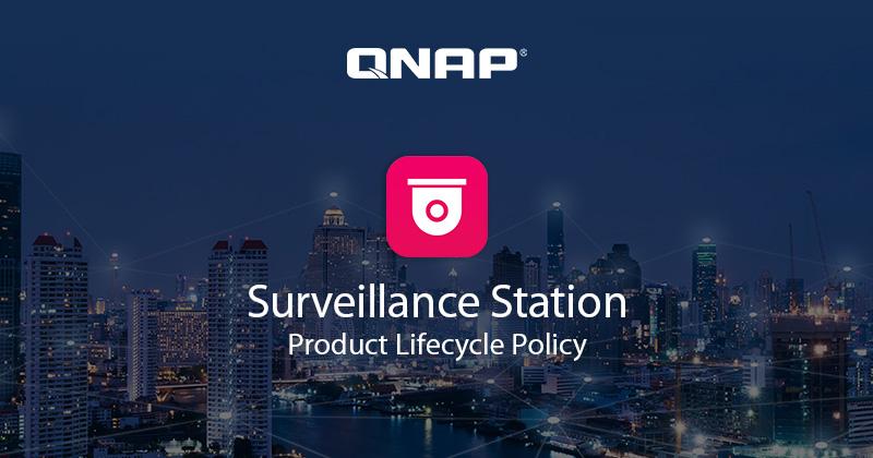 QNAP cập nhật chính sách vòng đời của Surveillance Station
