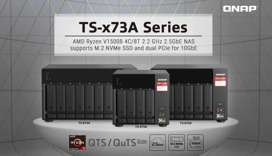 Đánh giá thiết bị lưu trữ QNAP TS-873A: Lưu trữ hiệu quả với QuTS Hero
