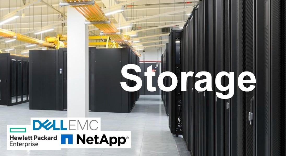 Lưu trữ doanh nghiệp: So sánh giải pháp giữa các nhà cung cấp Dell EMC, NetApp và HPE
