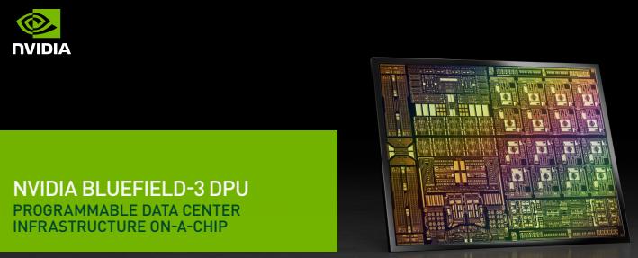 NVIDIA giới thiệu kiến trúc bộ xử lý dữ liệu BlueField-3 DPU