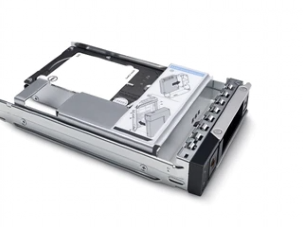 HDD Dell 600GB 15K RPM SAS 12Gbps 512n 2.5in Hot-plug Hard Drive, 3.5in HYB CARR