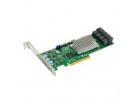 Card Raid Supermicro AOC-S8076L-L16E 16 Internal SAS3 12Gb/s Ports - only HBA
