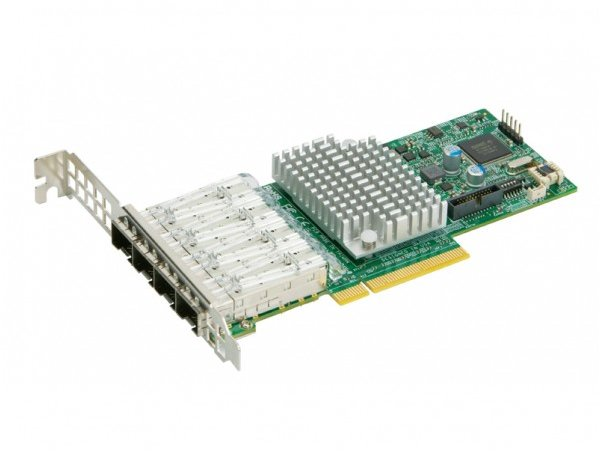 Supermicro AOC-STG-I4S SFP+ 4Port 10Gbe Std Ethernet Controller