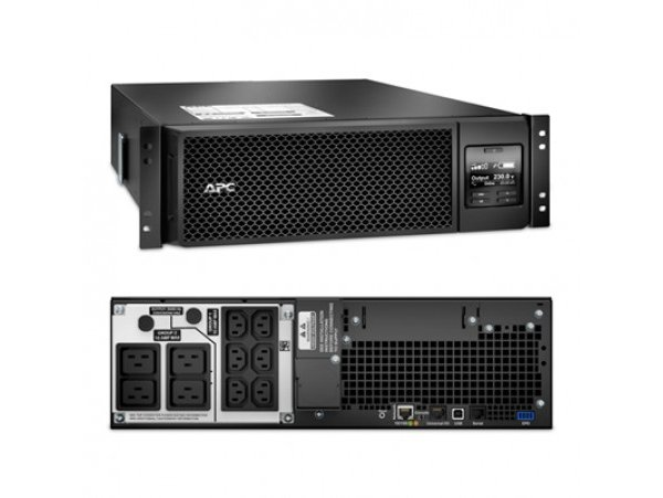APC Smart-UPS On-Line SRT 5000VA RM 230V 4500W, SRT5KRMXLI