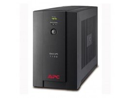 APC Back UPS 1400VA, 230V, AVR, Universal and IEC Sockets - BX1400U-MS