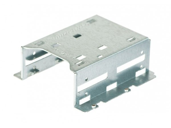 "Supermicro MCP-220-00044-0N Hard Disk Drive Retention Bracket for Up to 2 x 2.5"" Hard Disk Drive"