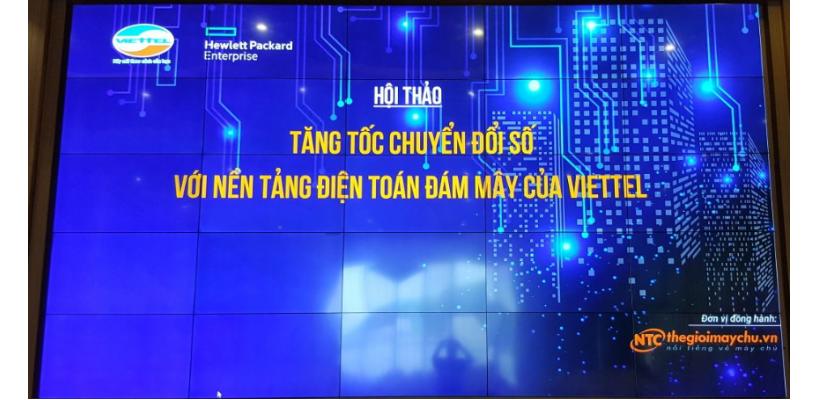 """Hội Thảo """"Tăng tốc Chuyển đổi số với nền tảng Điện toán Đám mây của Viettel"""" Ngày 19-6-2018"""